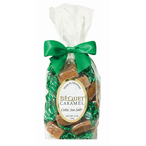 Béquet Caramel Celtic Sea Salt 8oz Gift Bag