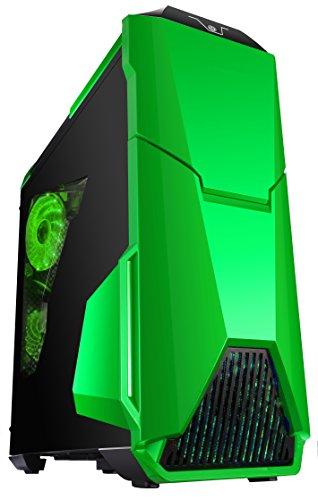 Gammec WARTHV Case Gaming, Warthog, Verde