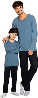 Conjunto de pijama Gola V, Lupo, Masculino