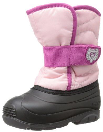 Kamik Footwear Snowbug3 Insulated Boot (Toddler),Pink,7 M US Toddler