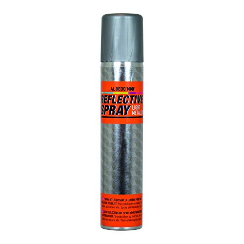 Albedo 1590152 Reflektierende Spray, 200 ml, Light Metallic