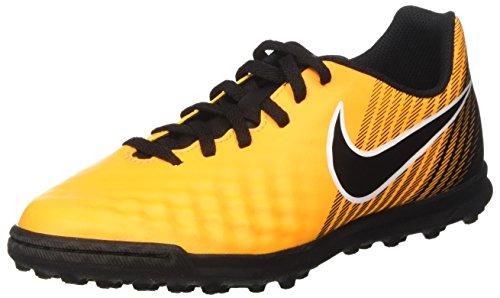 Nike Jr Magistax Ola II TF, Botas de fútbol Unisex niños, Naranja (Laser Orange/Black/White/Volt), 36 EU