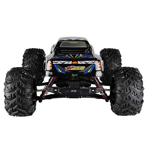 RC Monstertruck kaufen Monstertruck Bild 1: RC Monstertruck 1:10 FPS V10 Offroad Elektro Auto - Dual Motor bis zu 50 km/h - 4WD - Allradantrieb, IPX4 Wasserdicht, 34cm, Differentiale, 2.4G Fernbedienung, 2 Speed Modes, inkl. 2x LiPo Akku, 4x AA*