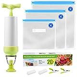Sous Vide Bags Kit 20 Pcs For Anova and...