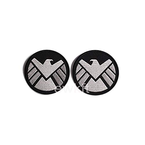 ewkft 1 paar avengers filmschild logo kostuum schouder ijzer op patches