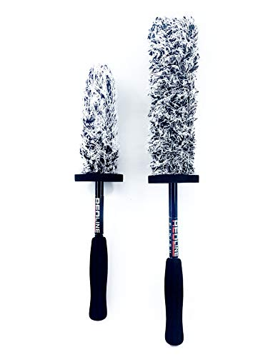 Redline Finish - The Duo Ultimate Microfiber Wheel Brush Set...