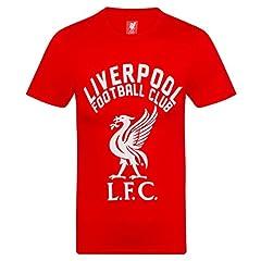 Liverpool FC Camiseta Hombre - Serigrafiada - Rojo