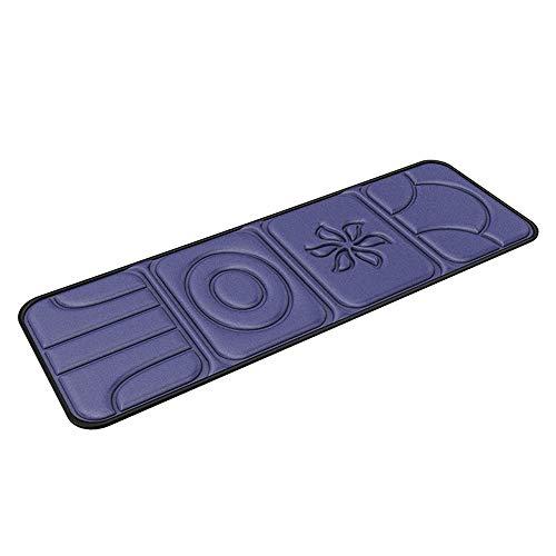 Vobajf Shiatsu Back Massager Pieno di Vibrazione del Corpo Massage Mat con alleviare Il Calore Gambe Posteriore del Collo Mezzo for la casa dell'automobile Sedie e materassini per Massaggi elettrici