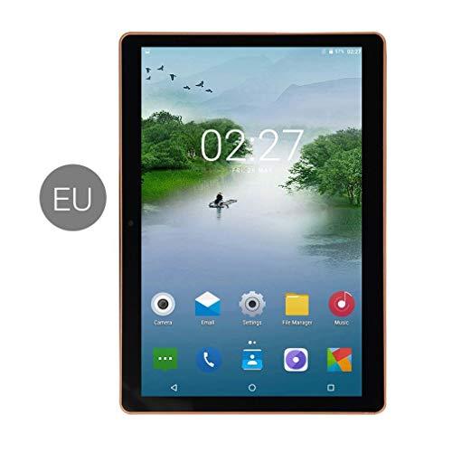 bansd 11 Pulgadas Android 8.0 Tablet PC 1 + 8G Dual SIM Ten-Core 3G Llamada telefónica Negro EU 220V