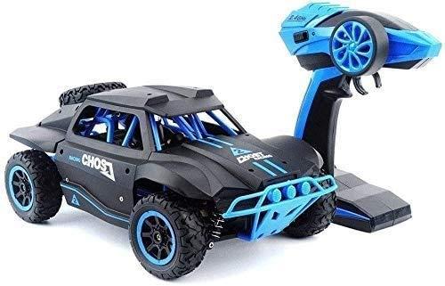 GLXLSBZ Coche RC 1/18 Coche de Control Remoto inalámbrico para niños 4WD Coche de Juguete eléctrico 2.4G Modelo de Carreras de Playa de Alta Velocidad Off-Road Vehi (Regalo de cumpleaños Festivo)