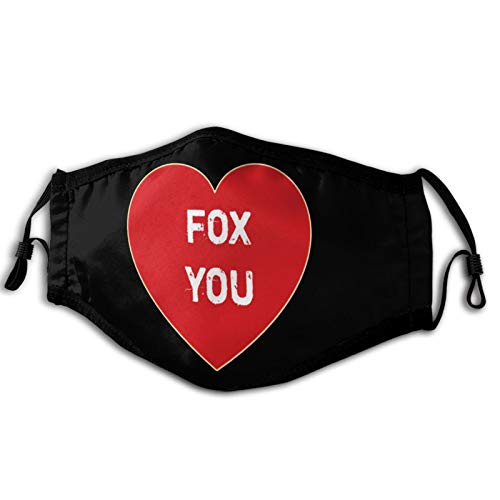 Reusable Cloth Face Mask Fox You Comfortable and Breathable Black Masks