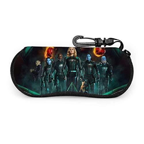 Capitán Marvel Eyegs Maleta de viaje portátil con cremallera Sungses Maleta Gses Bag Guard Set