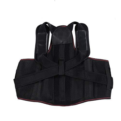 BLLBOO Frauen zurück Schulterhaltung Korrekturband Dame Humpback Relief Corrector Brace (M)