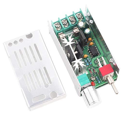 Chipoee Controlador de tasa 12-40 V CC Motor Cepillado Control de tasa Variable Controlador PWM Interruptor CW/CCW