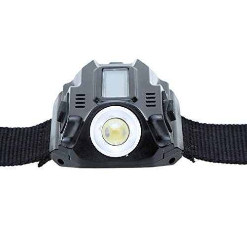 FHGJ Waterproof LED Tactical Rechargeable Wrist Watch Flashlight Multi Tools Outdoor Lighting for Outdoor Camping Hunting