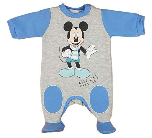 Kleines Kleid Mickey Mouse Strampler Warm Farbe Modell 1, Größe 74