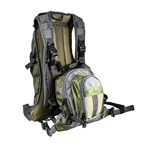Rocky Mountain Fly Fishing Backpack Chest Pack Combo Set -Offer Includes Both Packs