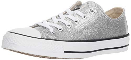 Converse Damen CTAS Ox Synthetic Silver White Trainer 39 EU