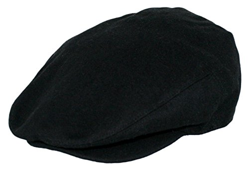 Epoch Hats Men's Premium Wool Blend Classic Flat Ivy Newsboy Collection Hat