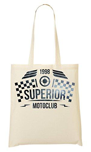 ShutUp Superior motoclub Crazy riders Lifestyle Bolso De Mano Bolsa De La Compra