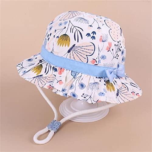 Sombrero para nios Gorra con Estampado de Verano para nios y nias Gorros para el Sol para nios Sombreros para bebs de Dibujos Animados de 6 Meses a 8 aos-a20-48cm 6-12 Months