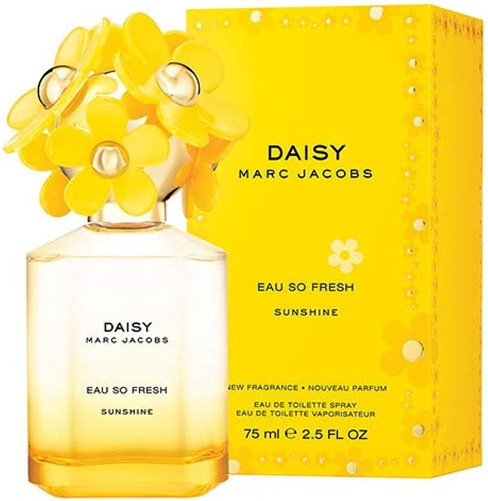 Marc jacobs daisy eau so fresh sunshine,eau de toilette,profumo per donna,75 ml 22989