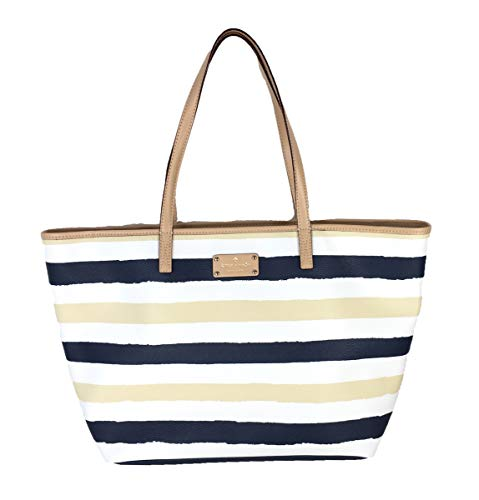 Kate Spade New York 'Bondi Road' Meduim Harmony Tote, Navy/Cream