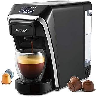 Machine à café à Capsules, Machines à café multifonctionnelles à Usage Unique Chulux compatibles pour Les Capsules Nespres...