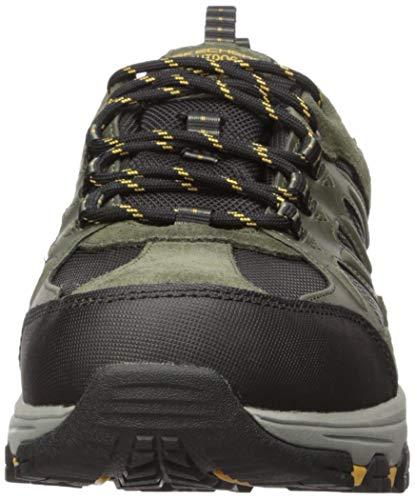 Skechers Men SELMEN ENAGO Sneakers Trekking Outdoor 66275 Olive, tamaño de Zapato:42 EU