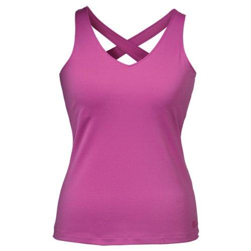 Jack Wolfskin Kinder Shirt Sunny Trail Top Women, Dahlia, XL
