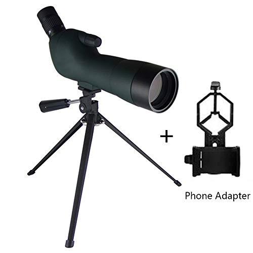 Read About XUNAN 20-60X60AE Spotting Scope Waterproof Fogproof 45-Degree Angled Eyepiece Spotting Sc...