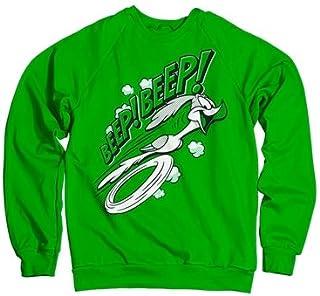 Officially Licensed Inked Looney Tunes - BEEP BEEP Sweatshirt (Green)