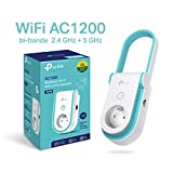 TP-Link RE365(FR) Répéteur WiFi - Amplificateur WiFi AC 1200 Mbps, WiFi Extender, WiFi Booster, 1...