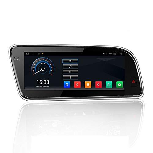 GPS Navigator Todo En Una Sola Máquina, 8,8 Pulgadas De Pantalla Táctil Completa Multimedia Para Audi Q5 Coche Con Inteligente De Voz/Bluetooth/AUX/USB/TF/Inicio Rápido