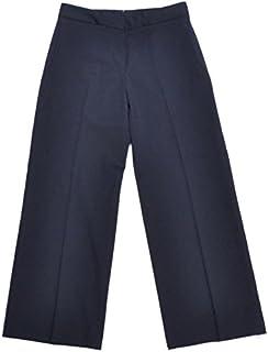 INCOTEX インコテックス [春夏] パンツ CHIARA ウール ベルトレス ワイドクロップド HighComfort