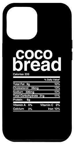 iPhone 12 Pro Max Jamaican Coco Bread Nutritional Value Case