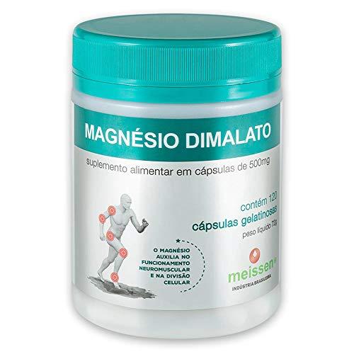 Magnésio Dimalato 500Mg 120 Cápsulas, Meissen