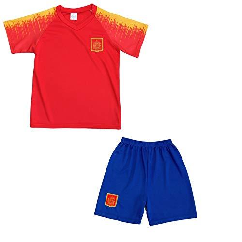 Générique Conjunto de Camiseta y Pantalones Cortos España News para niño, Rojo, 14 años: Amazon.es: Deportes y aire libre