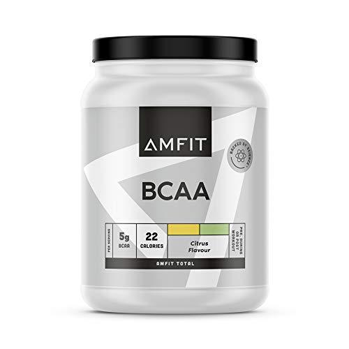 Marchio Amazon - Amfit Nutrition BCAA, Gusto Agrumi, 500g