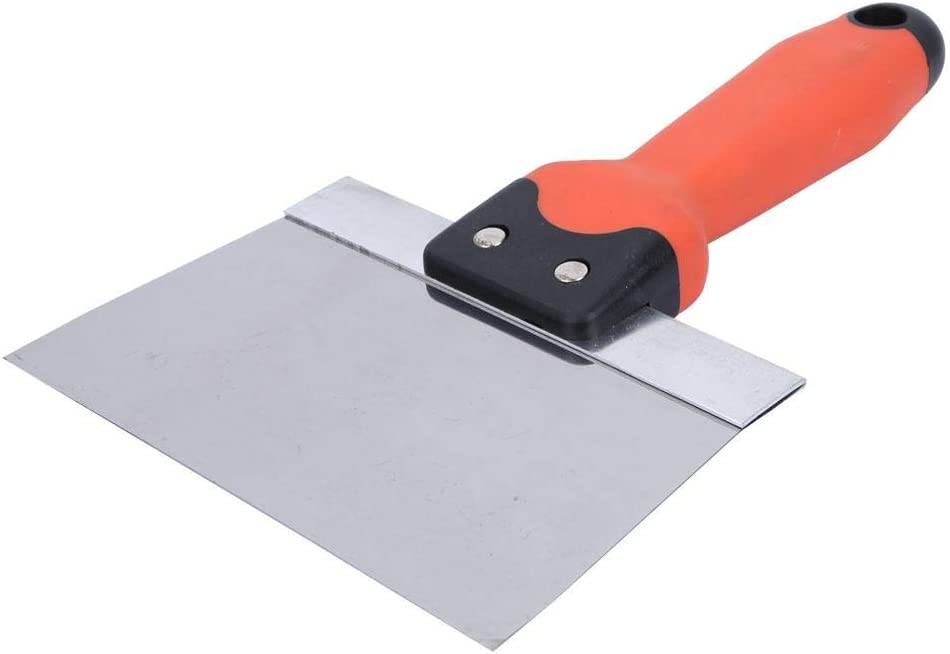 Esp/átula de masilla duradera raspador para el hogar a prueba de /óxido para acabado de yeso herramienta 6 inches cuchillo para yeso cuchillo para encintado de acero inoxidable