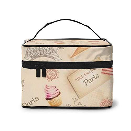 Pari Travel Cosmetic Case Organizer Portable Artist Storage Bag, Multifunction Case Toiletry Bags for Women