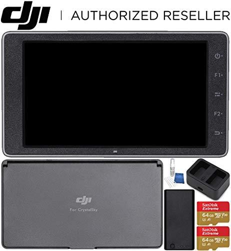 DJI CrystalSky 5.5 High-Brightness Monitor + CrystalSky Monitor Hood (5.5) Starter Bundle