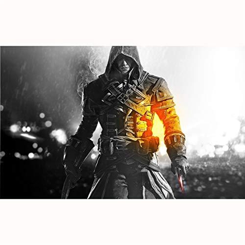 FENGZI Puzzles de Rompecabezas Assassin'S Creed Rogue Shay Puzzles para Adultos Adolescentes 300/500/1000/1500 Pieza (Size : 1000Pieces)