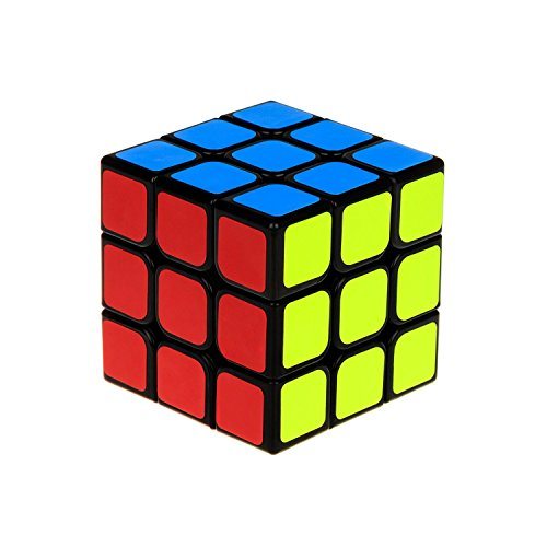 Motier Speed Cube New Anti-pop Structure Smooth Puzzle Cube for Professional Players (Sticker)