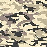 Pingianer Jersey Stoff Tarn Camouflage Meterware