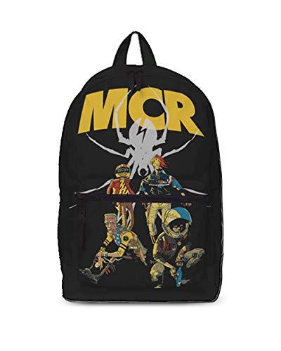 My Chemical Romance MCR Killjoy Classic - Mochila (mochila), color negro
