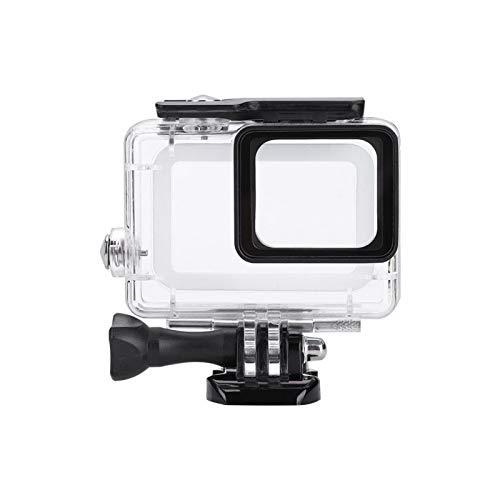 BOLORAMO Carcasa Impermeable para cámara de acción con Inserciones antivaho Kit de Accesorios para cámara de acción, para cámara Gopro Hero 5/6, para Viajar