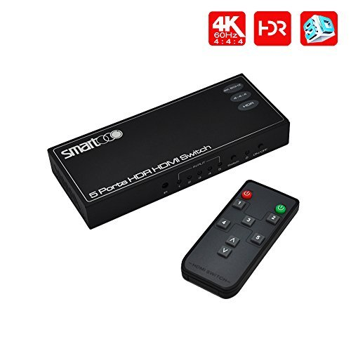 SMARTOOO 23051 4K 60Hz HDR HDMI Switch | HDMI...