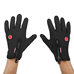 VGEBY Glove full finger riding a bike Waterproof bike for riding a bike outdoor activity (dimensions: XL)