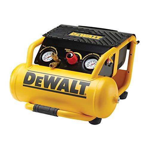 Dewalt DPC10RC Kompressor für Rollkäfig, 10 Liter, 1500 Watt, 11 Stück